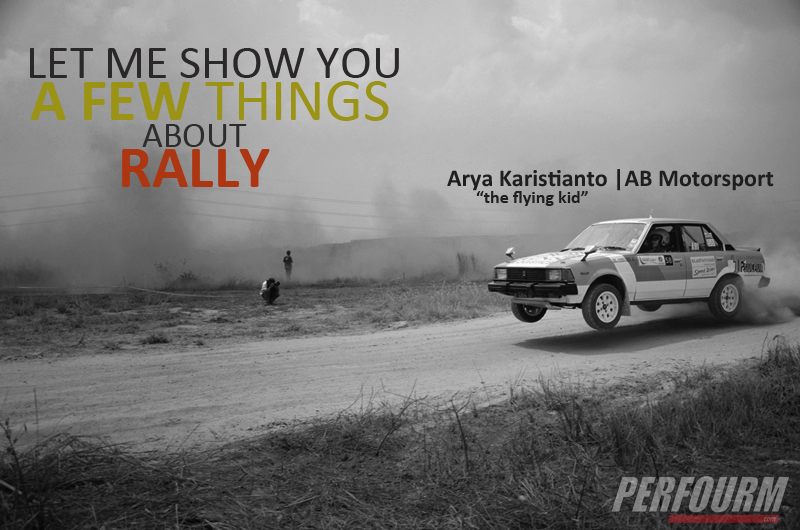 arya karistianto the flying kid from AB Motorsport