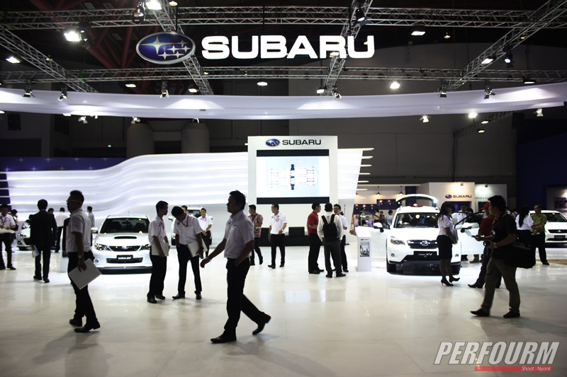 the launching all new subaru forester iims 2013 (11)