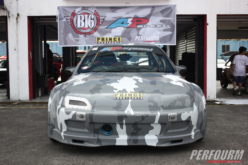 Tomahawk X Rainbow B16 AP Speed Sentul drag race rd (20)